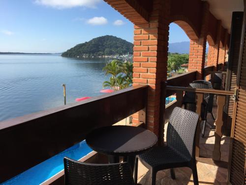 Uma varanda ou terraço em Hotel Marazul