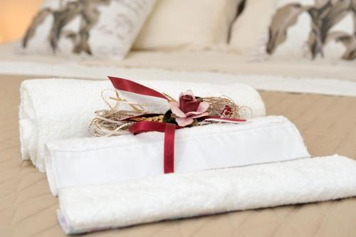Letto o letti in una camera di Case Vacanze Terra Sinus