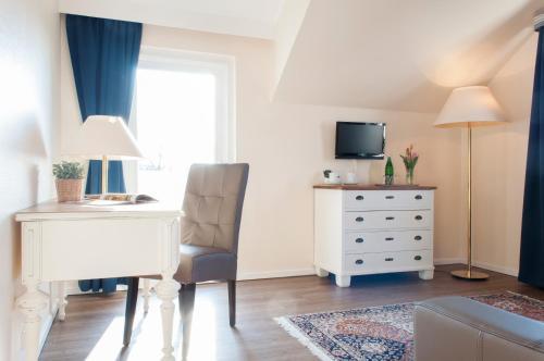 TV/Unterhaltungsangebot in der Unterkunft Hotel See-Villa