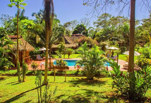 A view of the pool at Corto Maltes Amazonia or nearby