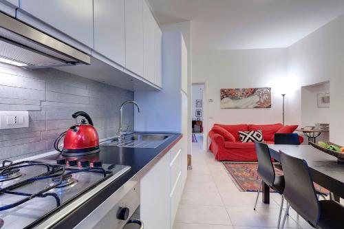 Una cocina o zona de cocina en AnticaFirenze