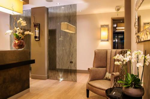 The lobby or reception area at The Hide London