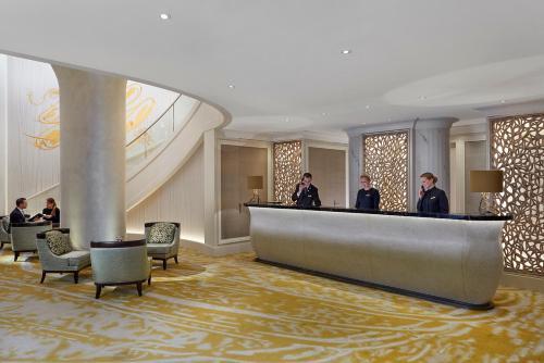 The lobby or reception area at Mandarin Oriental, Munich