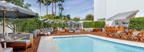 The swimming pool at or near Mr C Beverly Hills
