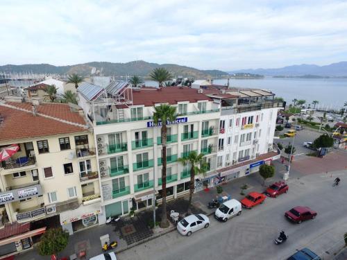 A bird's-eye view of Yeniceri City Hotel