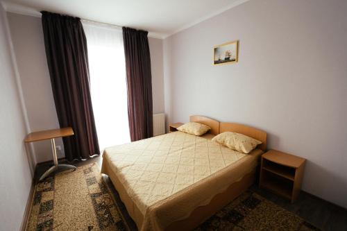 Кровать или кровати в номере Hotel Ruta 88