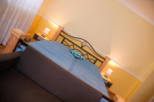 Postel nebo postele na pokoji v ubytování Pension Villa Maria