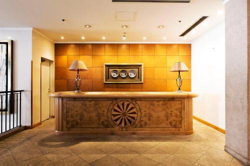 The lobby or reception area at Hotel Allamanda Aoyama Tokyo
