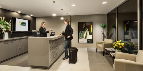The lobby or reception area at Quest Bundoora