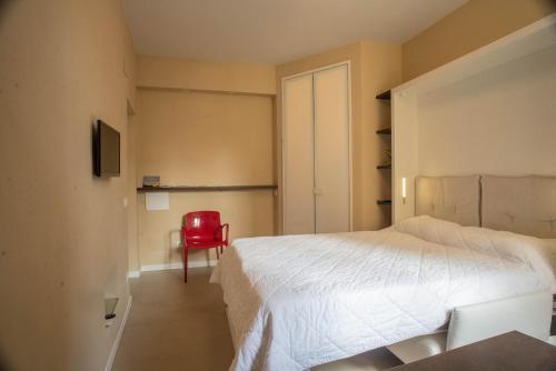 Cama o camas de una habitación en Minimal Signoria