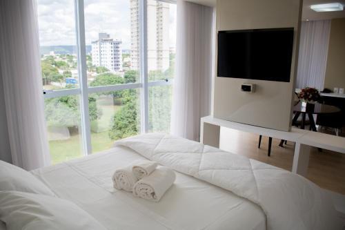 Cama ou camas em um quarto em Select Hotel