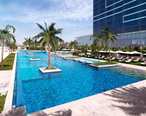 The swimming pool at or near Fairmont Bab Al Bahr