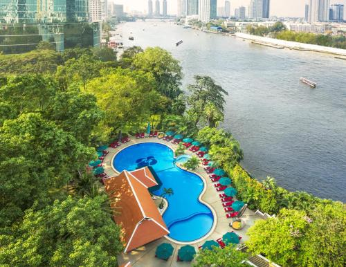 A view of the pool at Royal Orchid Sheraton Hotel and Towers or nearby