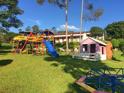 Children's play area at Hotel Fazenda Pontal de Tiradentes