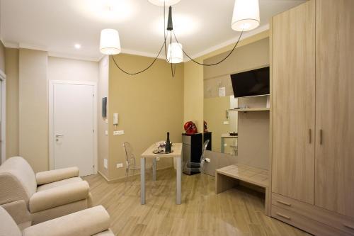 Area soggiorno di Marbia Guest House
