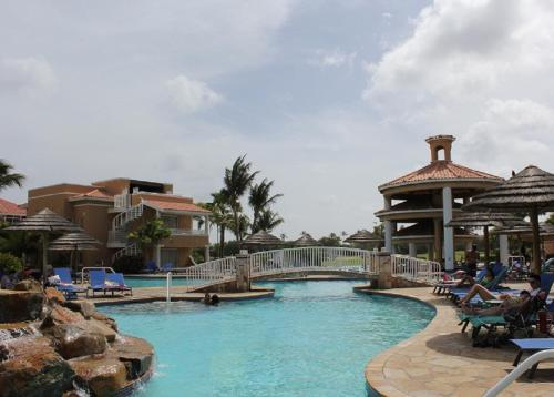 The swimming pool at or near Divi One Bedroom