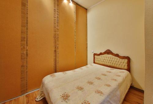 Кровать или кровати в номере Квартира на острове