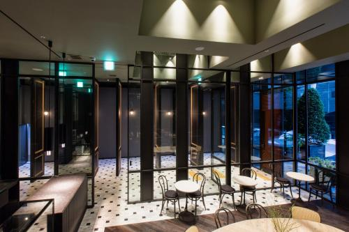 A restaurant or other place to eat at Stay Hotel Gangnam