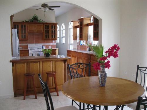 A kitchen or kitchenette at Villa San Juan
