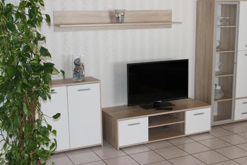 TV/Unterhaltungsangebot in der Unterkunft Ferienwohnungen Angela