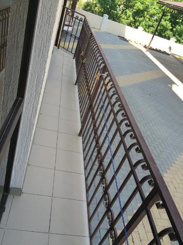 A balcony or terrace at Apartment Kabardinskiy pereulok