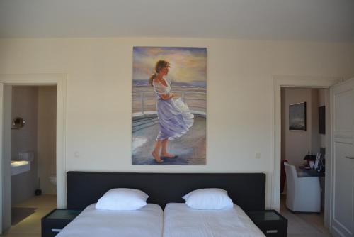 Ein Bett oder Betten in einem Zimmer der Unterkunft Villa Anita