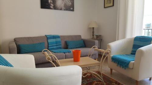 Zona de estar de Apartamento Hector en Sitges