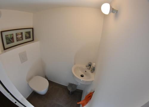 A bathroom at Duplex Patio Wilson
