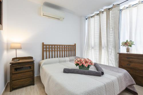 A bed or beds in a room at Matarolux 6