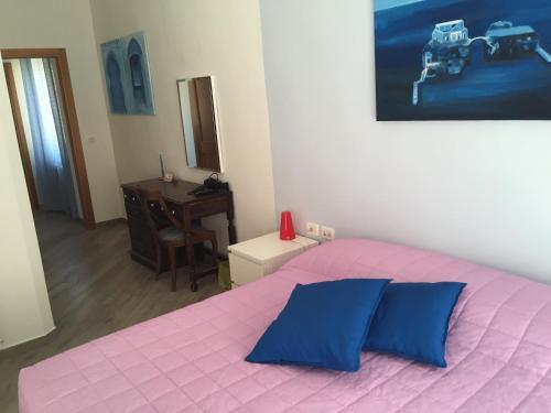 Cama o camas de una habitación en La Bugia