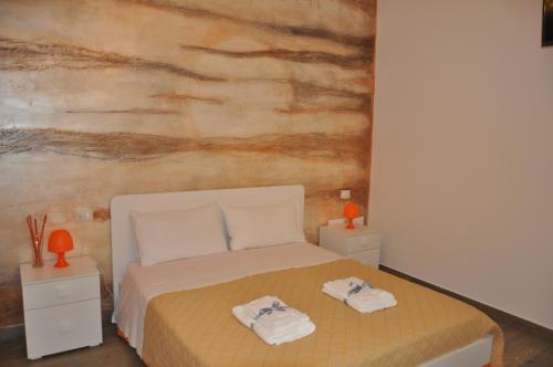 Letto o letti in una camera di Alicata B&b La Dimora Del Vento