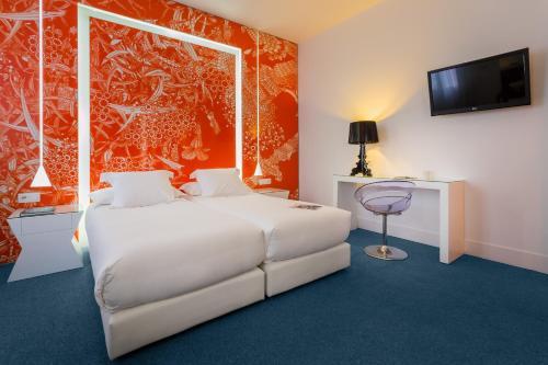 Cama o camas de una habitación en Room Mate Mario