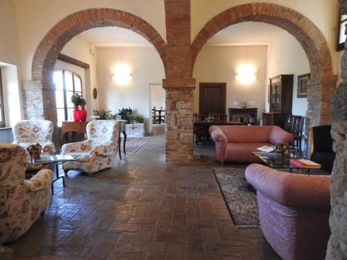 Area soggiorno di Relais Borgo Di Toiano
