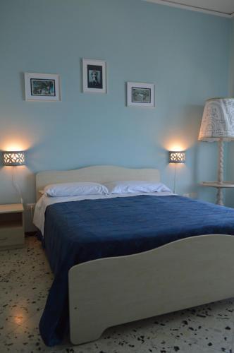 Кровать или кровати в номере B&B Fronte Del Mare
