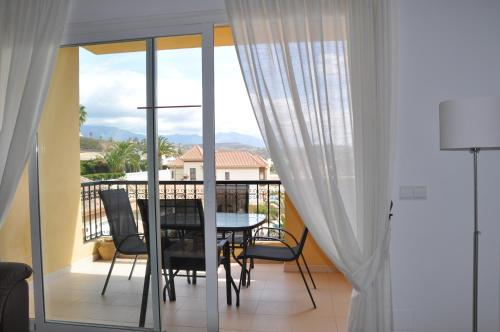 Un balcón o terraza de Jardin Botanico Apartment