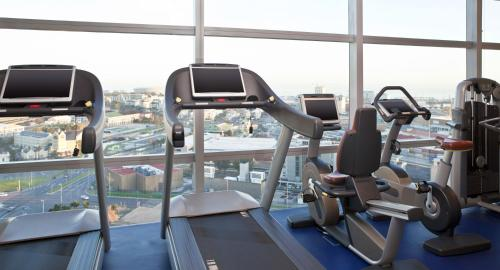 The fitness center and/or fitness facilities at The Westin Cape Town