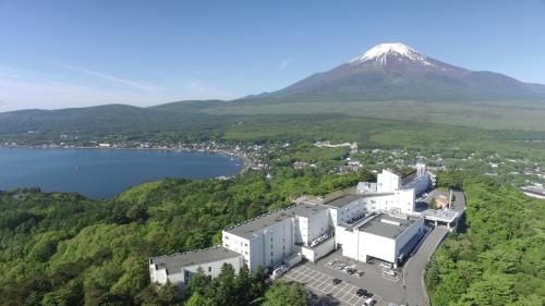A bird's-eye view of Hotel Mt. Fuji