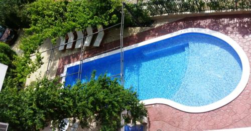 The swimming pool at or near Villa Bojana
