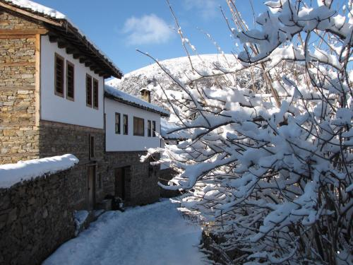 Lavanda Bed and Breakfast during the winter