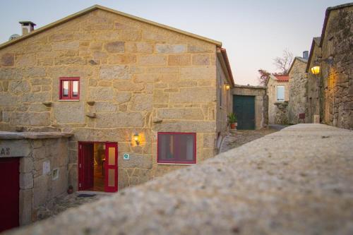 The facade or entrance of Casa da Fecha