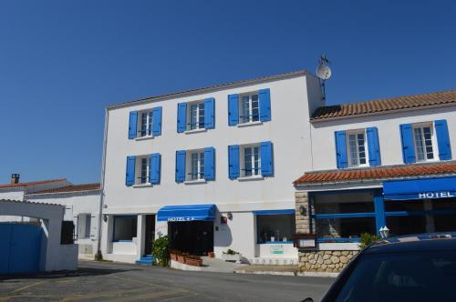 Façade ou entrée de l'établissement Hotel Restaurant La Chaudrée