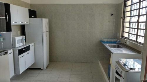A kitchen or kitchenette at Hostel 3MD