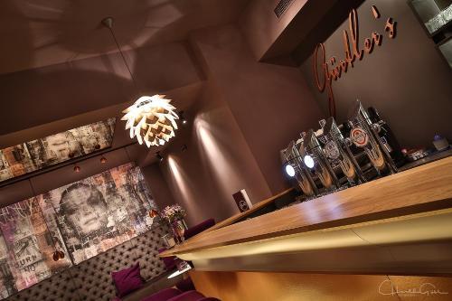 Lounge oder Bar in der Unterkunft Stadthotel Gürtler