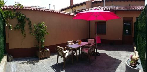 A porch or other outdoor area at Casa abuela Gaspara I