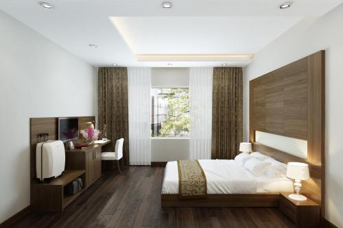 A room at Eco Luxury Hanoi