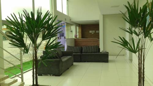 The lobby or reception area at Hotel Vento Sul