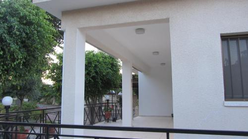 A balcony or terrace at Vineyard House