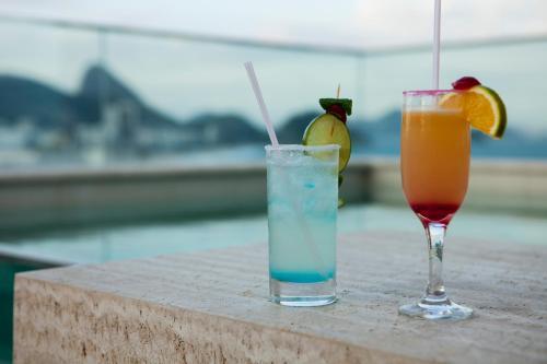 Drinks at Ritz Copacabana Boutique Hotel