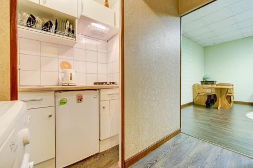 Кухня или мини-кухня в Apartment kanala Griboedova 33