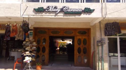 Фасад или вход в Hotel Mary Carmen